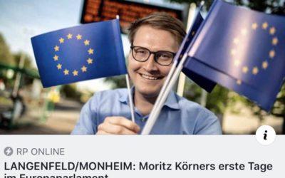 Meine ersten Tage im Europaparlament