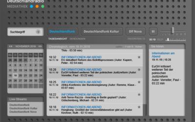 Mein Statement im Deutschlandradio zum EuGH-Urteil zur neuen Disziplinarkammer in Polen