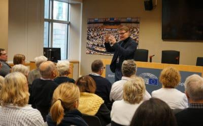 Besuchergruppe der Friedrich-Naumann-Stiftung in Brüssel