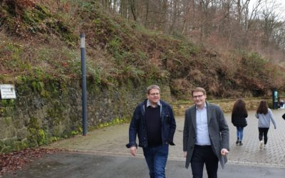 Unterwegs mit Kai Abruszat, liberaler Bürgermeister in Stemwede.