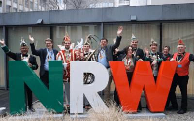 Langenfelder Prinzenpaar zu Gast in Brüssel