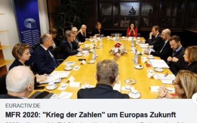 Konsultationsrunde zum mehrjährigen Finanzrahmen der EU
