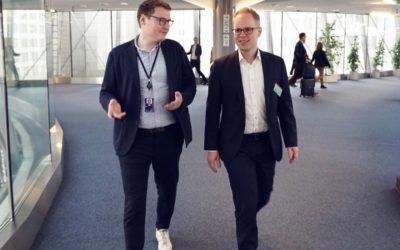 Jens Brandenburg MdB zu Gast in Brüssel