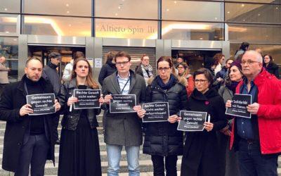 Gedenken an die schrecklichen Taten von Hanau