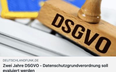 """""""Die DSGVO ist ein Flickenteppich"""" – Mein Kommentar im Deutschlandfunk"""
