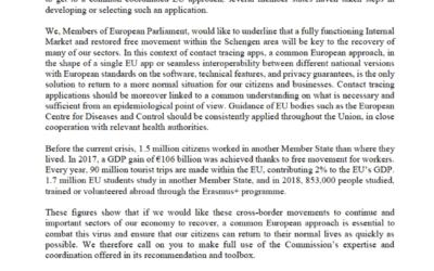 Wir brauchen eine EU-koordinierte Corona-App