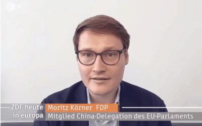 Kuscht die EU vor China? – Mein Interview im ZDF