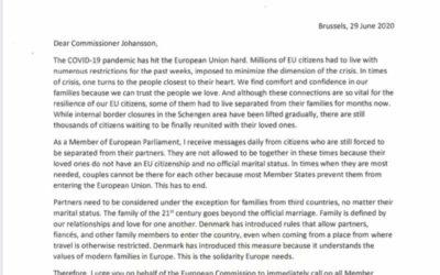 #LoveIsNotTourism – mein Brief an EU-Kommissarin Ylva Johansson