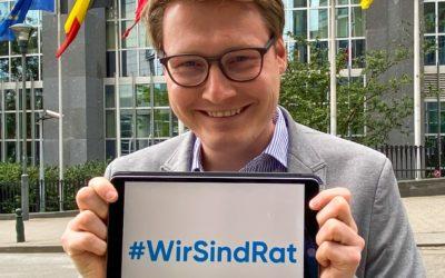 #WirSindRat – Beginn der deutschen Ratspräsidentschaft