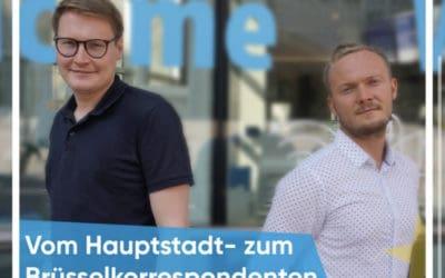Neue Podcast-Folge mit Brüssel-Korrespondent des DLF – Paul Vorreiter