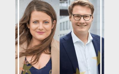 """Neue Podcastfolge von """"Europa, wir müssen reden!"""" mit Ann Cathrin Riedel"""
