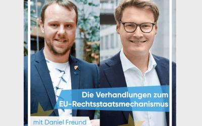 Neue Folge mit Daniel Freund – Europaabgeordneter (die Grünen)
