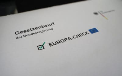 Michael Link und Moritz Körner fordern Europa-Check bei neuen Gesetzen der neuen Bundesregierung