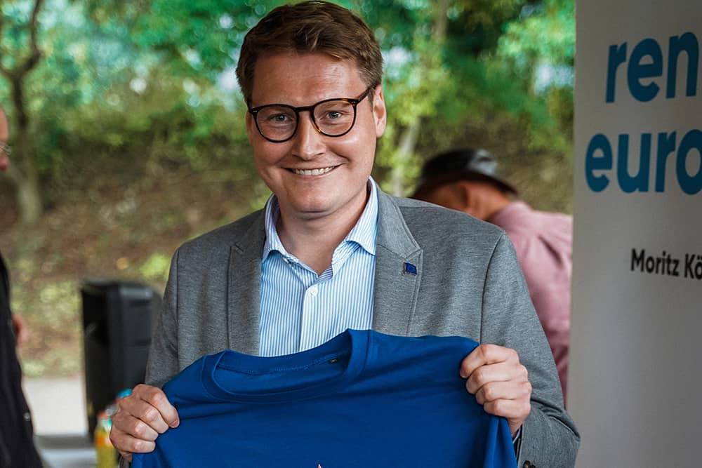 Europapolitischer Empfang mit Moritz Körner – Jetzt anmelden!